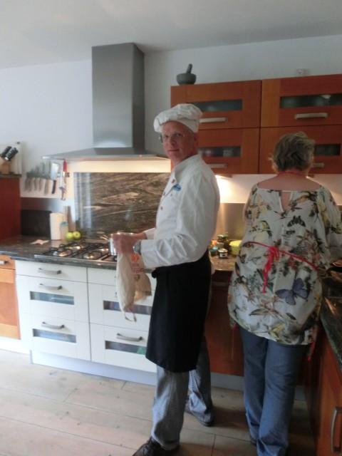 de koks staan al klaar