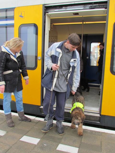 mee met de trein